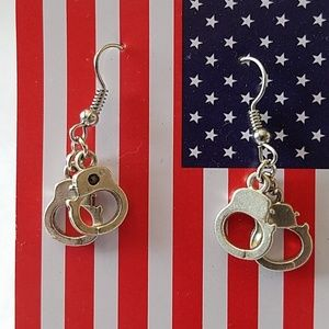 Handcuff Earrings Handmade